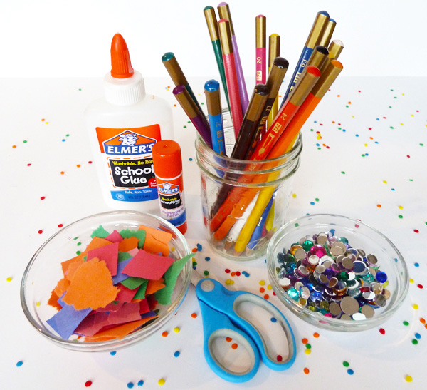 Picture of arts and crafts materials