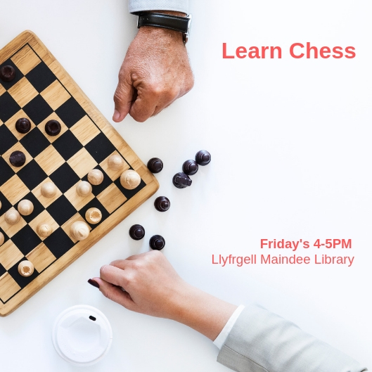 Chess classes starting at Maindee Library, Friday 4-5PM
