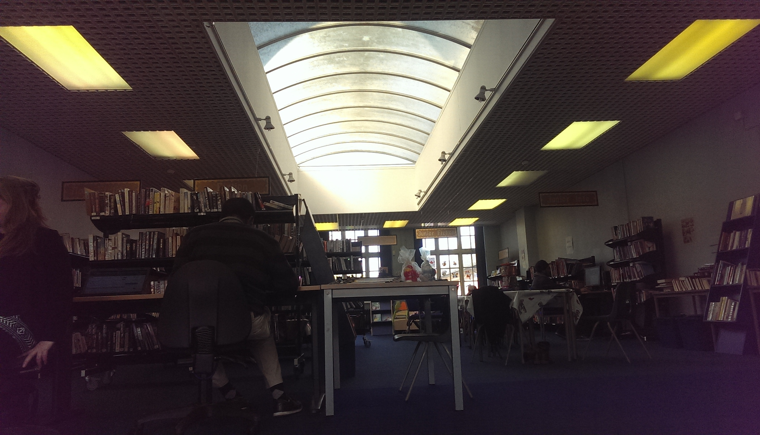 Inside Maindee Library