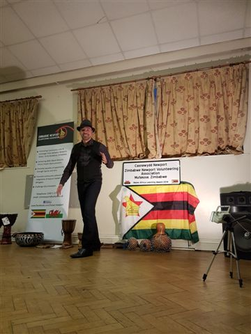 Ismael at Zimbabwean event